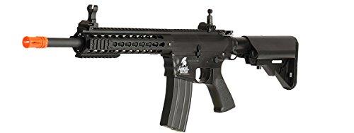 UKARMS  5 UKARMS Lancer Tactical AEG M4 Keymod Electric Automatic Airsoft Rifle Gun - Full Metal Gearbox -