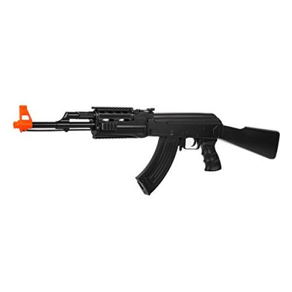 UKARMS Airsoft Rifle 4 UKARMS AK-47 AEG Semi/Full Auto Electric Airsoft Rifle Gun High Capacity Magazine FPS 150