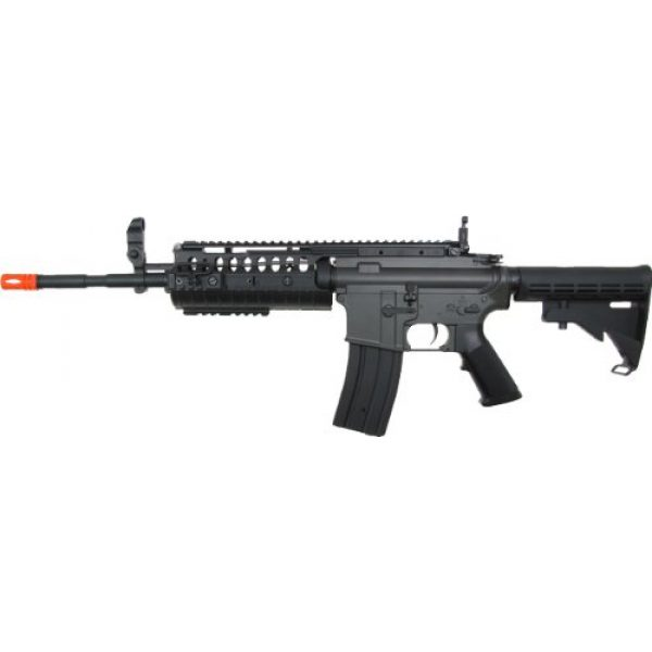 Jing Gong (JG) Airsoft Rifle 1 JG m4a1 s-system aeg electric airsoft gun - black(Airsoft Gun)