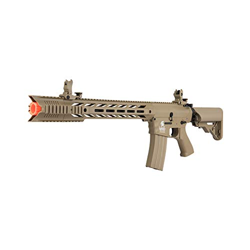 Lancer Tactical Airsoft Rifle 2 Lancer Tactical Gen 2 SPR Interceptor LT-25 AEG Electric Aerosoft Gun