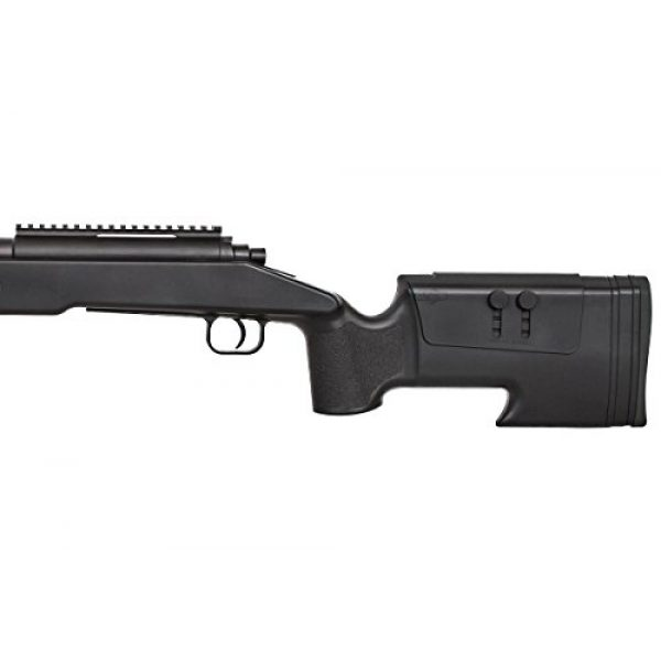 ASG Airsoft Rifle 7 ASG McMillian Sportline M40A3 Bolt Action Spring Sniper Airsoft Rifle (Black)