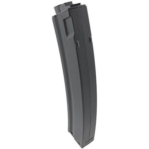 SportPro Airsoft Gun Magazine 4 SportPro 260 Round Metal High Capacity Magazine for AEG MP5 Airsoft - Black