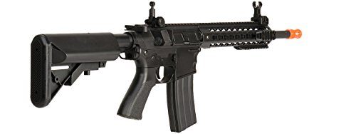 UKARMS  2 UKARMS Lancer Tactical AEG M4 Keymod Electric Automatic Airsoft Rifle Gun - Full Metal Gearbox -