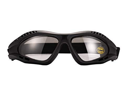 Tactical Safety Goggles with High Strength Polycarbonate UV400 & an-ti Fog Lens for Airsoft Competition