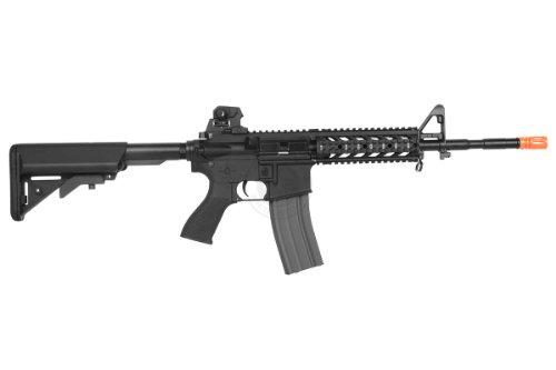 G&G  4 G&G airsoft combat machine m4 raider high-performance full metal gearbox aeg rifle w/ integrated ras and crane stock(Airsoft Gun)