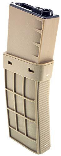 SportPro  2 SportPro CYMA 450 Round Polymer Thermold Waffle High Capacity Magazine for AEG M4 M16 Airsoft - Tan