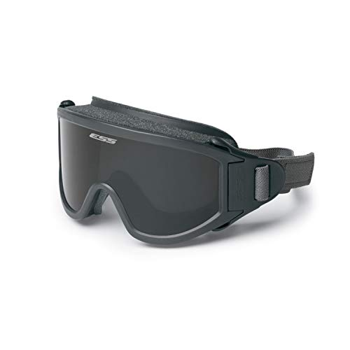 ESS Airsoft Goggle 1 ESS Eyewear 740-0333 Gray US Navy/AF 100% UVA/UVB Protection Flight Deck Goggles