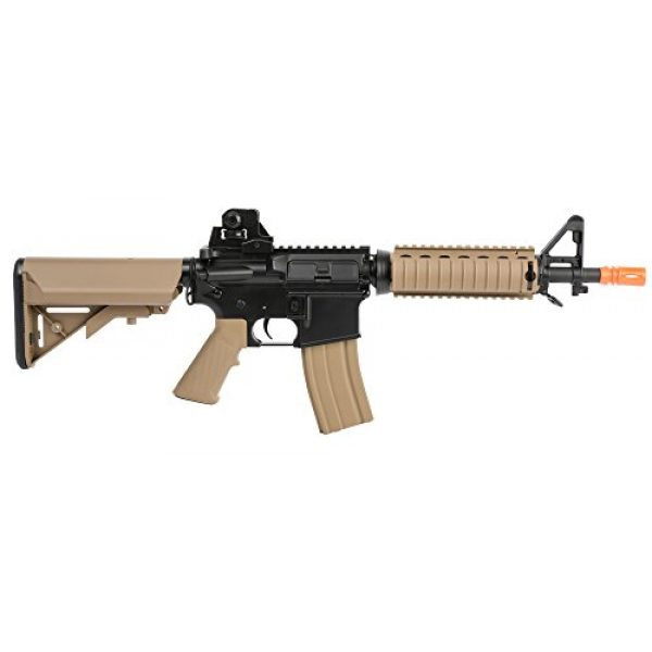 Colt Airsoft Rifle 6 Colt Soft Air CQBR-RIS Electric Powered Airsoft Gun with Adjustable Hop-Up, 350-380 FPS