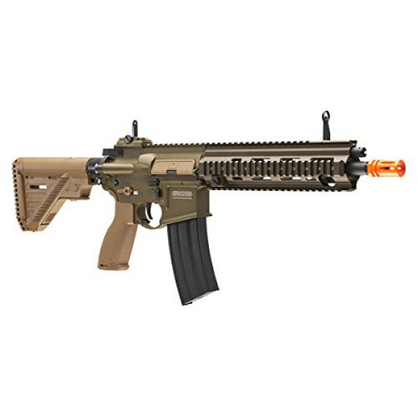Elite Force Airsoft Rifle 5 Heckler & Koch Airsoft Rifle 416 A5 6mm Tan, Multi, One Size (2262069)