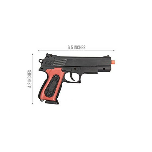 UKARMS Airsoft Pistol 2 UKARMS P238 Airsoft Hand Gun Full Size Spring Pistol w 6mm BBS BB