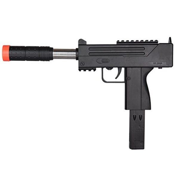 UKARMS Airsoft SMG Rifle 3 UKARMS Spring MAC Uzi Airsoft Gun SMG Pistol w/ 6mm BBS + Detachable Magazine