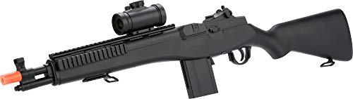 Evike  1 Double Eagle M14 Socom RIS Carbine Spring Airsoft Gun (Black)