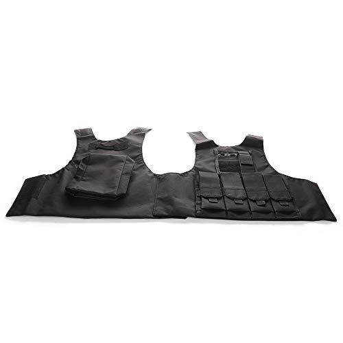 Children Field Combat Training Protective Vest Adjustable Waistcoat Airsoft Vest Breathable Combat Training Protective Vest for CS Field Game Outdoor Sports