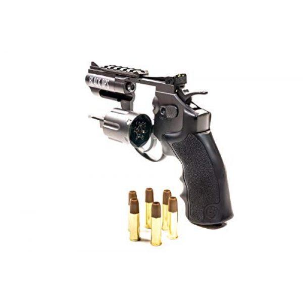 Black Ops Air Pistol 2 Black Ops Exterminator 2.5 Inch Revolver - Gun Metal Finish - Full Metal CO2 BB/Pellet Gun - Shoot .177 BBs or Pellets