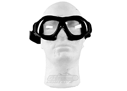 Bravo! Airsoft Goggle 1 Bravo Airsoft Compact Goggles (Black)