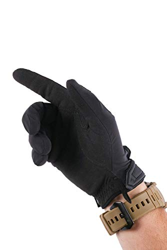 First Tactical Airsoft Glove 4 First Tactical Mens Slash Patrol Glove | Cut Resistant Touchscreen Compatible Duty Gloves