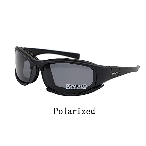 ZoliTime Airsoft Goggle 5 Daisy x7 Polarized Outdoor Tactical Sunglasses Windproof Military 4 Lens Kit Tactical Goggles
