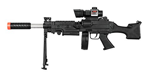 UKARMS  1 UKARMS Tactical LMG Spring Airsoft Rifle Gun FPS 300