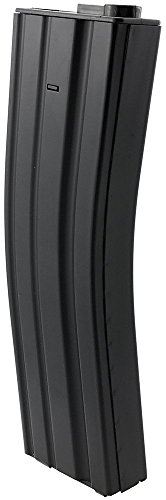 SportPro  2 SportPro Jing Gong 450 Round Metal High Capacity Long Magazine for AEG M4 M16 Airsoft - Black