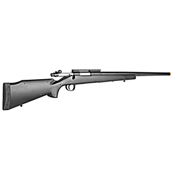 BBTac Airsoft Rifle 2 BBTac Airsoft Sniper Rifle M61 - Bolt Action Powerful Spring Airsoft Gun, Extreme Power Accurate Sniping with .20g 6mm BBS Ammo