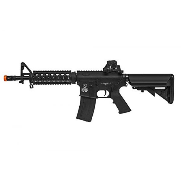 Colt Airsoft Rifle 1 Soft Air COLT M4 CQB Automatic Electric Airsoft Gun, Black