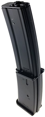 SportPro  4 SportPro Well 145 Round Polymer High Capacity Magazine for AEG MP7 3 Pack Airsoft - Black