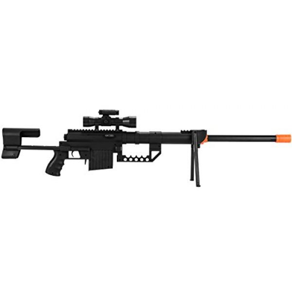 UKARMS Airsoft Rifle 1 UKARMS P1200 M200 Airsoft Sniper Rifle (Black) FPS 330