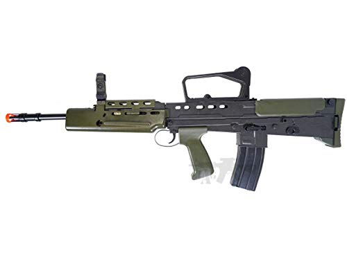 HFC  4 HFC Airsoft Spring Tactical Rifle British Army SA80 Full Size 320FPS Bolt Action with Rail