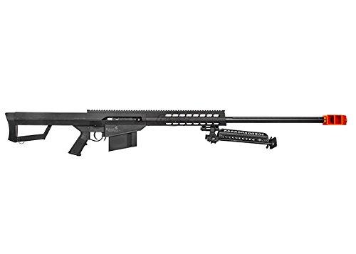 Lancer Tactical  5 Lancer Tactical M82 Polymer Spring Sniper Rifle w/Bipod Airsoft Gun