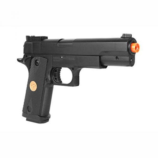 Double Eagle Airsoft Pistol 3 Double Eagle A&N 275FPS P169 1911 Airsoft Hand Gun Full Size Spring Pistol w 6mm BBS BB Fantastic Starter Airsoft Pistol Government .45