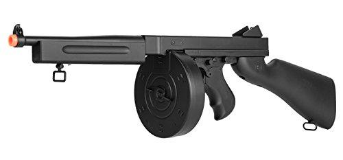 Well  6 Well D98 M1A1 WWII Submachine Gun AEG