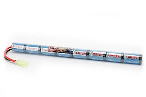 Tenergy Airsoft Battery 1 Tenergy 9.6V NiMH 1600mAh Stick Mini Battery Pack