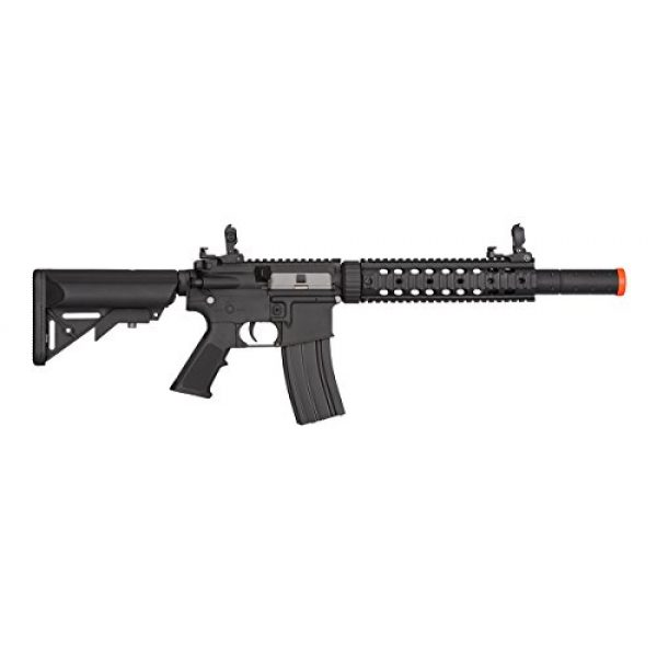 Lancer Tactical Airsoft Rifle 2 Lancer Tactical Low FPS M4 Gen 2 AEG Electric Airsoft Rifle Gun - Black