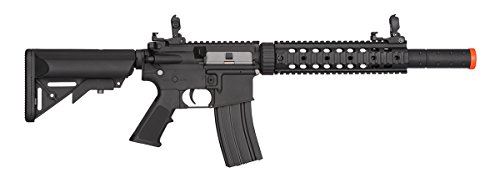 Lancer Tactical  2 Lancer Tactical Low FPS M4 Gen 2 AEG Electric Airsoft Rifle Gun - Black