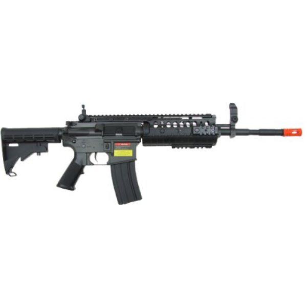 Jing Gong (JG) Airsoft Rifle 2 JG m4a1 s-system aeg electric airsoft gun - black(Airsoft Gun)