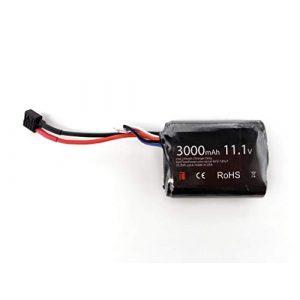 TITAN Airsoft Battery 1 TITAN 3000mAh 11.1v Brick T-Plug (Deans)