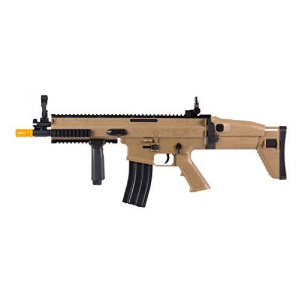 FN Airsoft Rifle 3 FN Scar-L Spring Powered Airsoft Rifle, Tan, 300 FPS