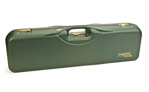 Negrini Cases  1 Negrini Cases 1646LR-3C/4733 Shotgun Case for O/U ABS/1 Gun/3 Barrels to 34 5/8-Inch/Med-Rib