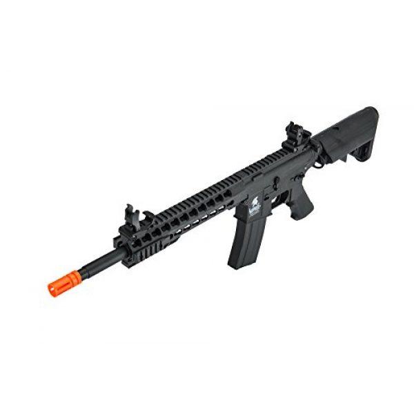 "Lancer Tactical Airsoft Rifle 2 Lancer Tactical G2 Airsoft LT-19B M4 Carbine 10"" AEG Rifle - BLACK"