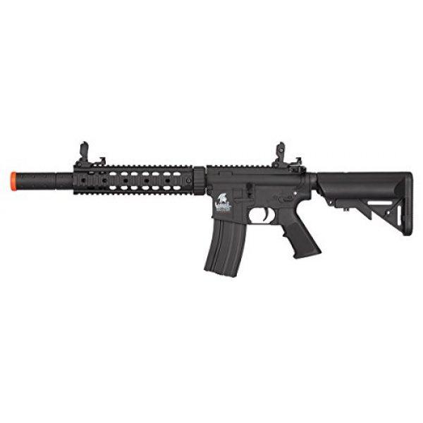 Lancer Tactical Airsoft Rifle 1 Lancer Tactical Low FPS M4 Gen 2 AEG Electric Airsoft Rifle Gun - Black