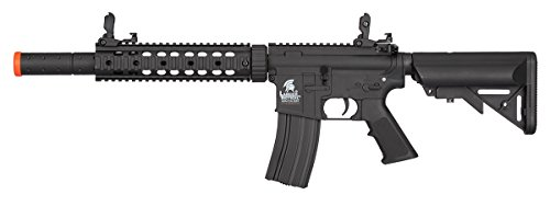Lancer Tactical  1 Lancer Tactical Low FPS M4 Gen 2 AEG Electric Airsoft Rifle Gun - Black