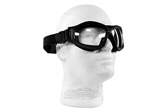 Bravo! Airsoft Goggle 2 Bravo Airsoft Compact Goggles (Black)