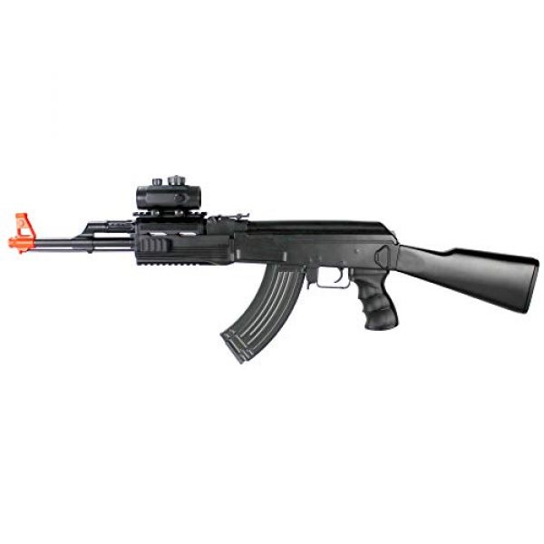 BBTac Airsoft Rifle 2 BBTac Airsoft Electric Gun AK BT-022 Fully Automatic Rifle, Great for Starter, with Semi & Safe Mode