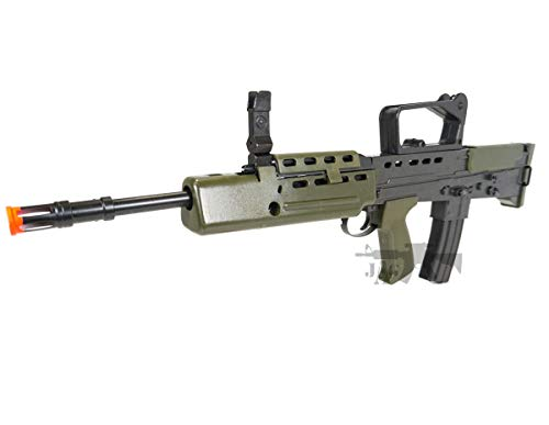 HFC  3 HFC Airsoft Spring Tactical Rifle British Army SA80 Full Size 320FPS Bolt Action with Rail