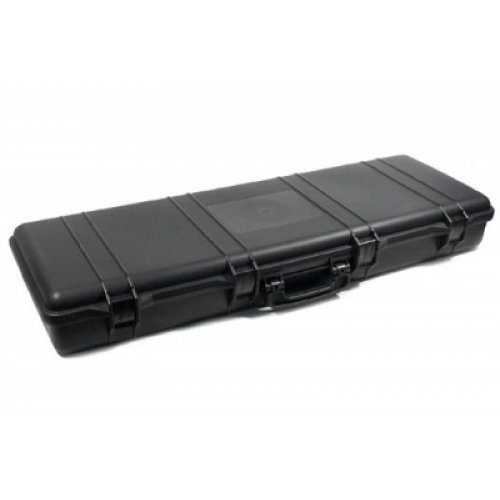 A&N Airsoft Gun Case 3 A&N SRC Airsoft Rifle Gun Foam Padded Plastic Carrying Gun Case Black