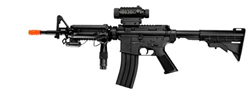 Well  1 Well d92h m4a1 RIS Electric Airsoft Gun Full auto fps-200