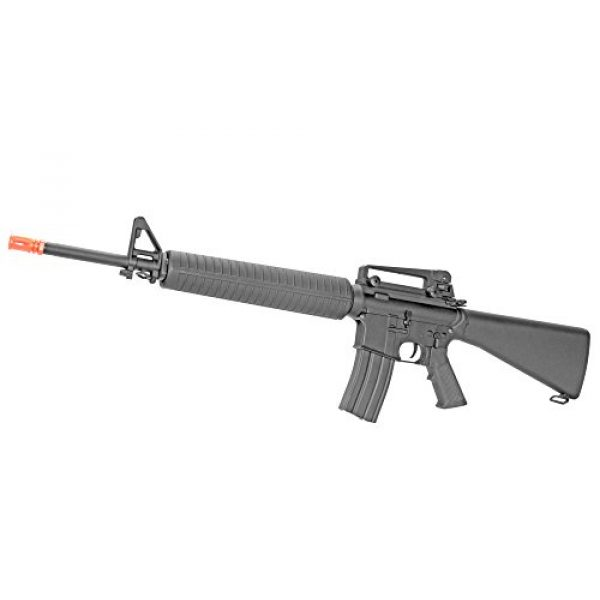 MetalTac Airsoft Rifle 1 MetalTac CYMA CM013 Electric Airsoft Gun RAS with Polymer Body, Metal Gearbox Version 2, Full Auto AEG, Powerful Spring 370 Fps with .20g BBS