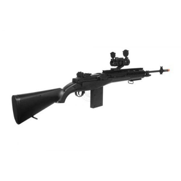 AGM Airsoft Rifle 5 400 fps agm airsoft m14 ris spring sniper rifle w/ red dot(Airsoft Gun)