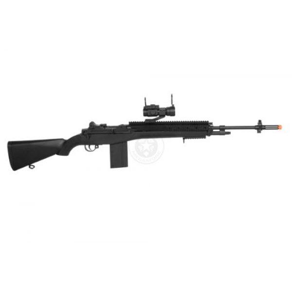 AGM Airsoft Rifle 4 400 fps agm airsoft m14 ris spring sniper rifle w/ red dot(Airsoft Gun)