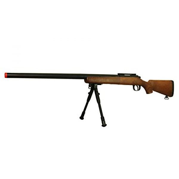 BBTac Airsoft Rifle 5 BBTac Airsoft Sniper Rifle VSR-10 Bolt Action Powerful Spring Airsoft Gun with Hunting Scope and Bipod